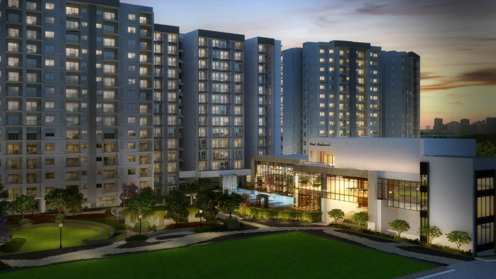Raintree Boulevard - Flats in Hebbal, Bengaluru