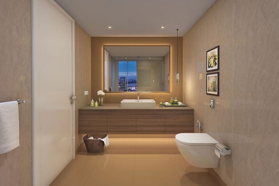 Emerald Isle Washroom