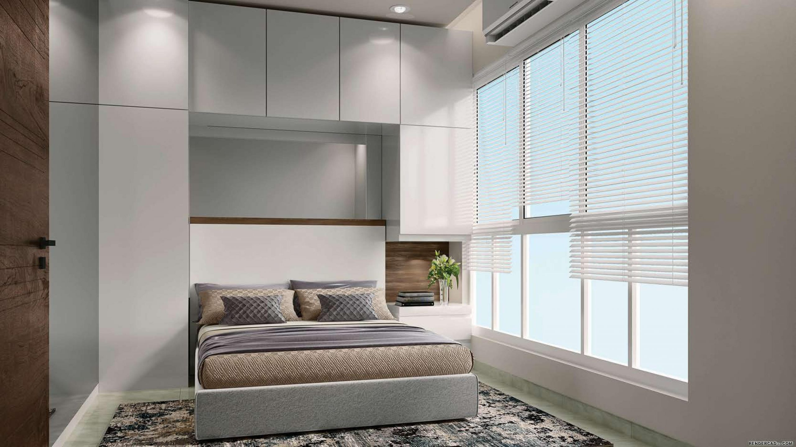 1 BHK BedRoom View of Centrona