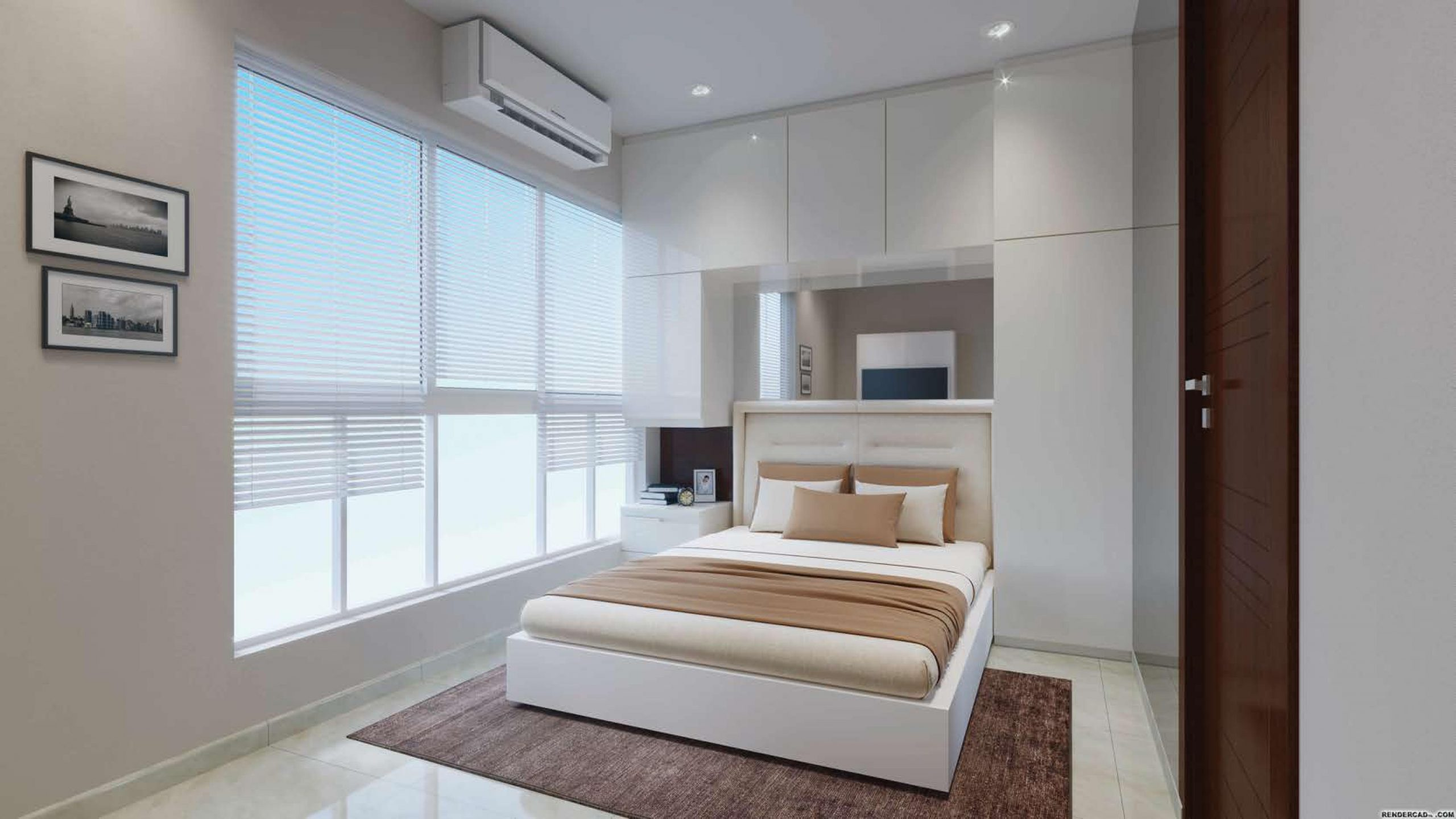 2 BHK BedRoom View of Centrona