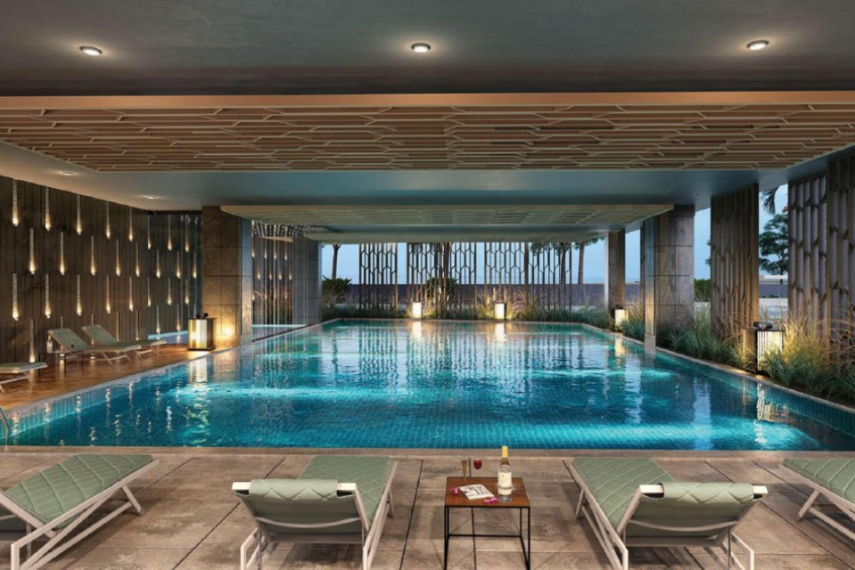 All Weather Indoor Swimming Pool - Centrona Amenities