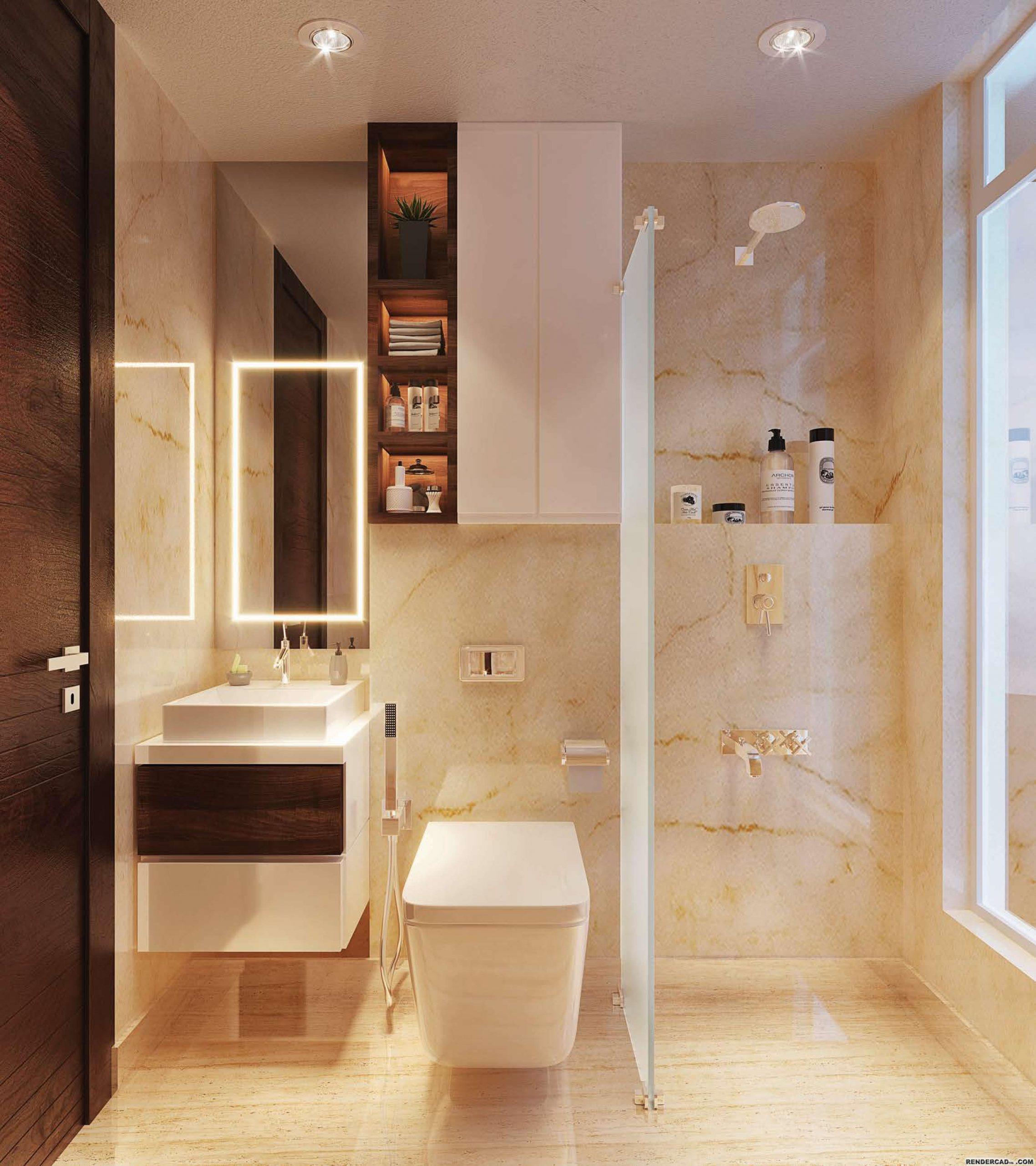 Bathroom View of Centrona