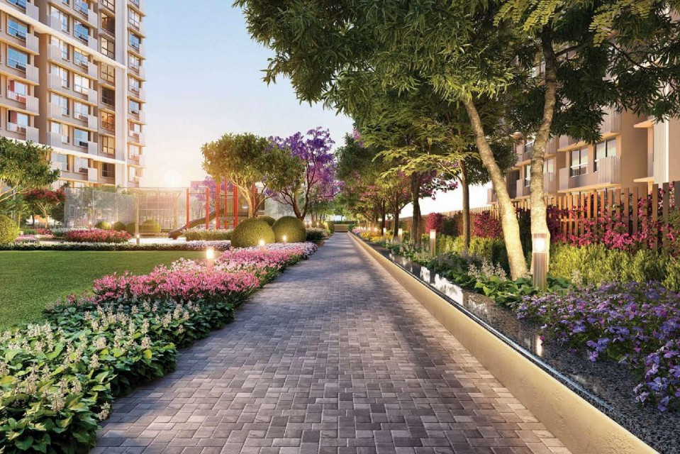Elevated Jogging Track - Centrona Amenities