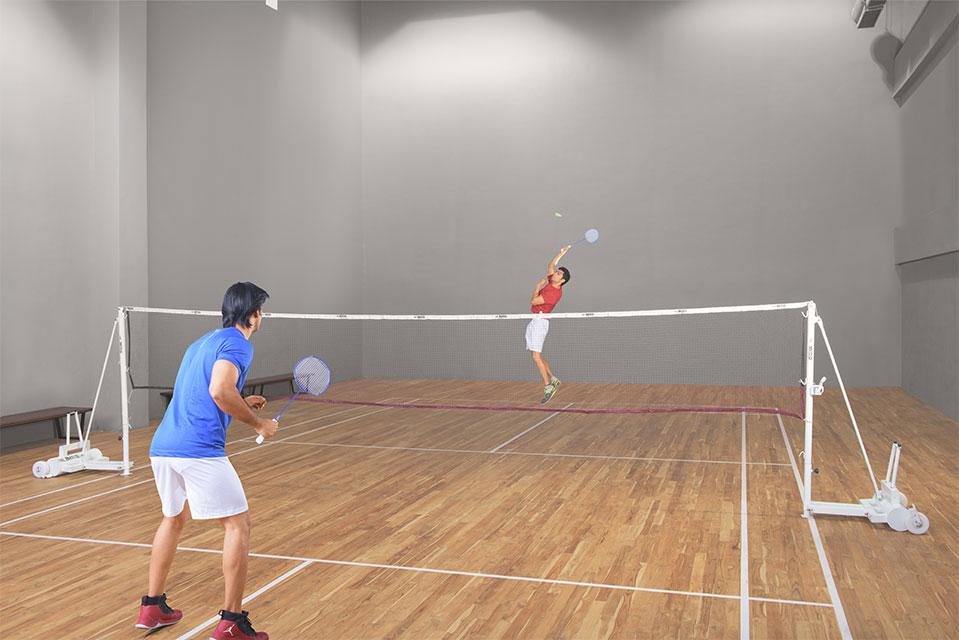 Badminton Court - Crescent Bay Amenities