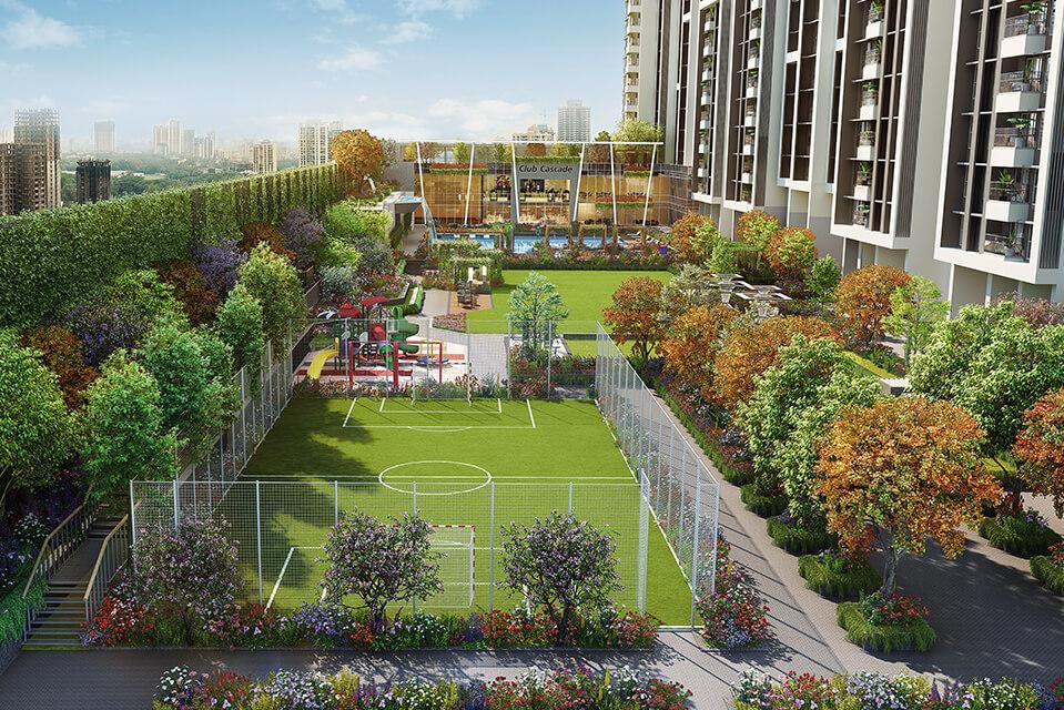 Elevated Garden Walk - Rejuve 360 Amenities