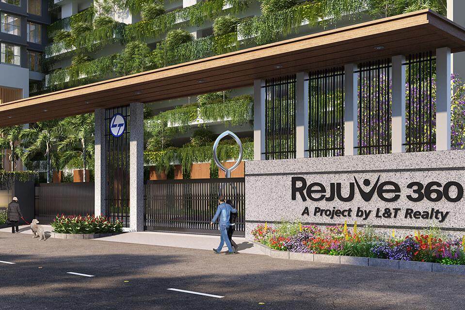 Entry Portal of Rejuve 360 Amenities