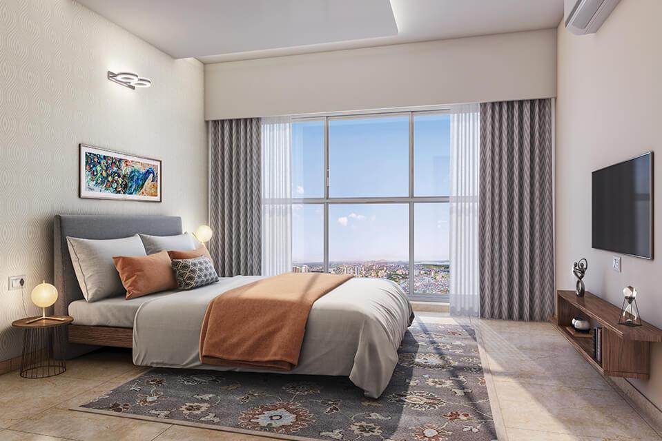 Guest Bedroom - Rejuve 360 Amenities