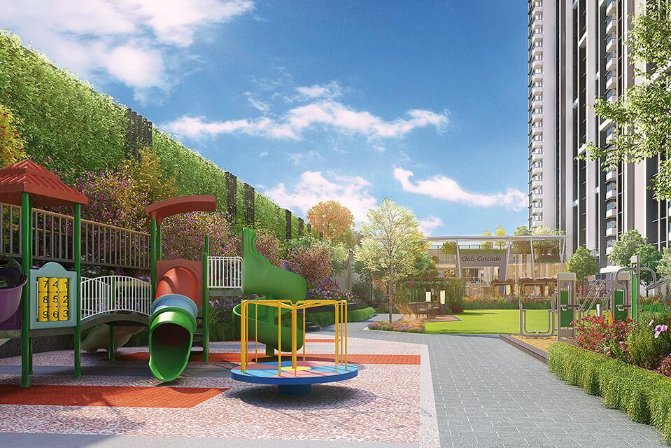 Kids Play Area - Rejuve 360 Amenities