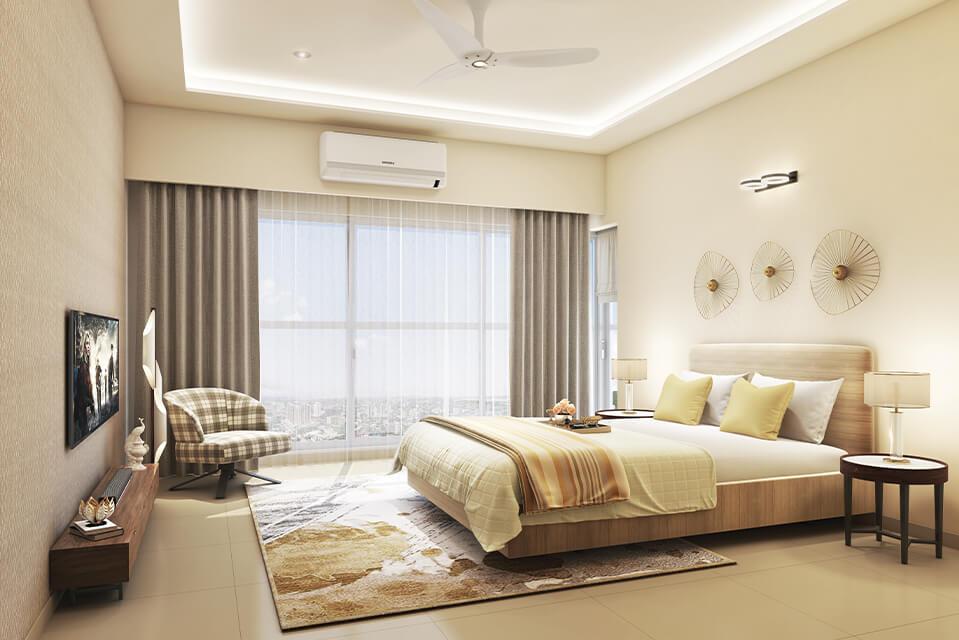 Master Bedroom - Rejuve 360 Amenities