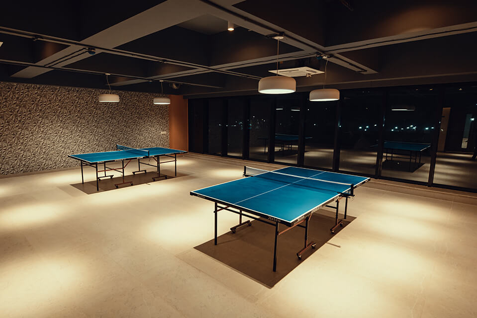 Table Tennis - Raintree Boulevard Amenities