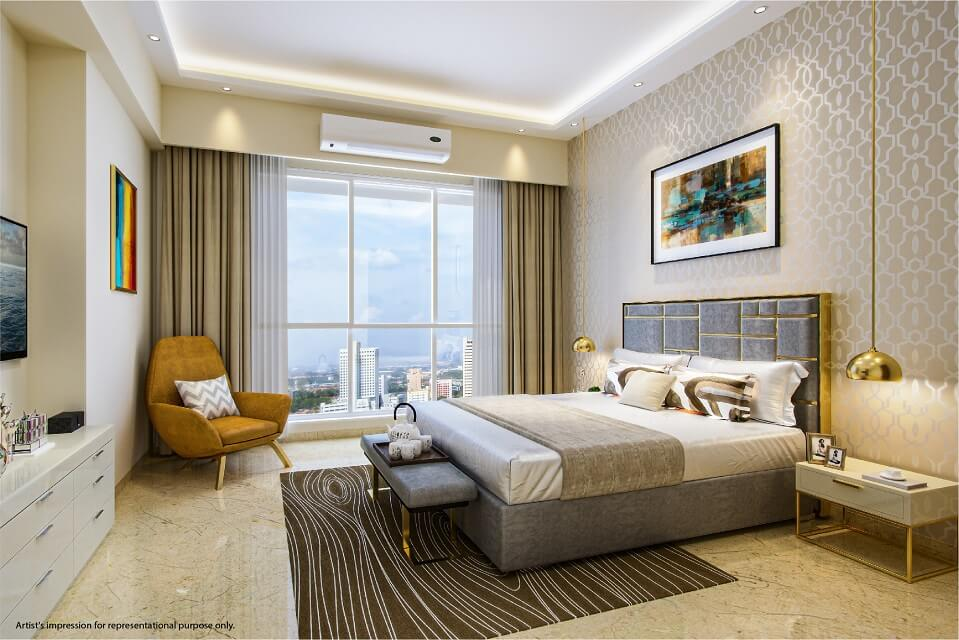 Bed Room - Emerald Isle Amenities