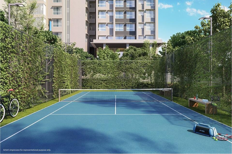 Tennis Court - Emerald Isle Amenities