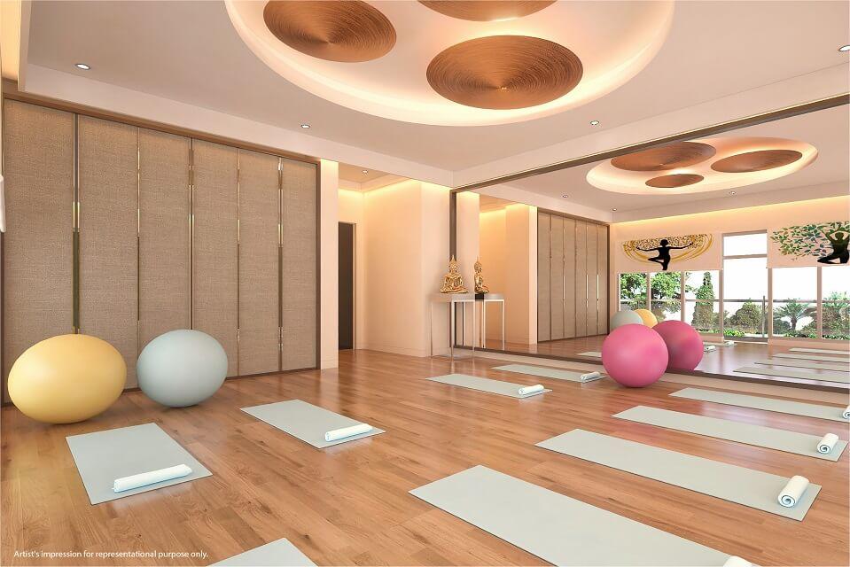 Yoga Room - Emerald Isle Amenities