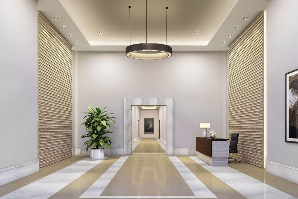 Entrance Lobby - Emerald Isle Amenities