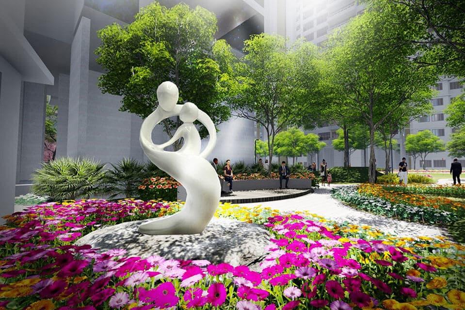 Sculpture Garden - Emerald Isle Amenities